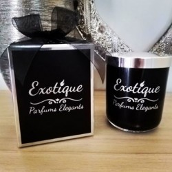 Signature Black Candle